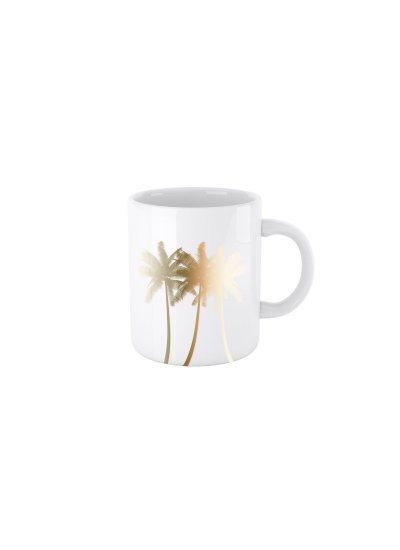 GOLDEN PALM MUG